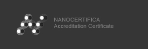 NANOCERTIFICA Accreditation Certificate