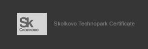 Skolkovo Tehnopark Certificate